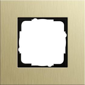 Gira Cadre 0211127 1 fois esprit aluminium marron