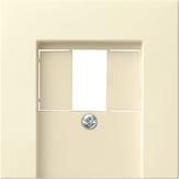 Gira 027603 Zentralstück für TAE reinweiss glänzend System 55