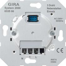 Gira System 2000 Nebenstelleneinsatz für Präsenzmelder und ...