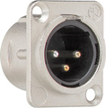 Flange plug 3-pole D series