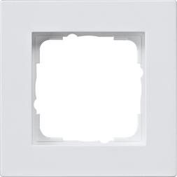 gira abdeckrahmen gira e2 f r den flachen einbau reinwei. Black Bedroom Furniture Sets. Home Design Ideas