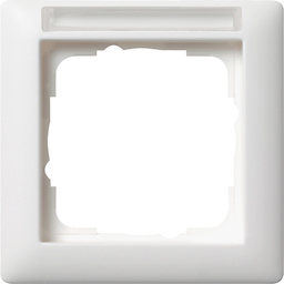 Radio dimmer, F100, pure white glossy